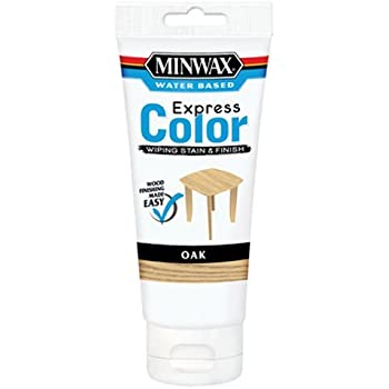 Minwax 308014444 Express Color Wiping Stain and Finish, Oak
