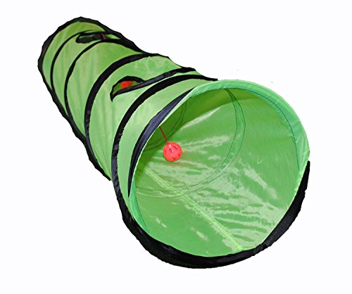 Shop4Omni Kitty Cat Play Tunnel Pet Toy Four Exit Holes
