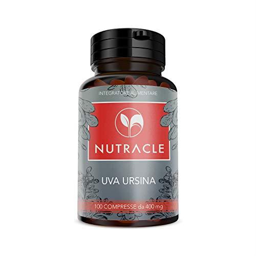 NUTRACLE GAYUBA 100 comprimidos de 400 mg | Para la salud del tracto urinario | previene cistitis y drena líquidos corporales | alta concentración de principios activos.