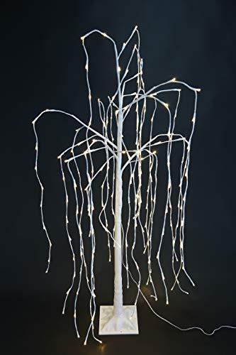 """VARILANDO® LED-Baum für innen und außen in 2 bezaubernden Varianten LED-Dekoration Beleuchtung Garten-Beleuchtung (LED-Baum\""""Weide\"""")"""