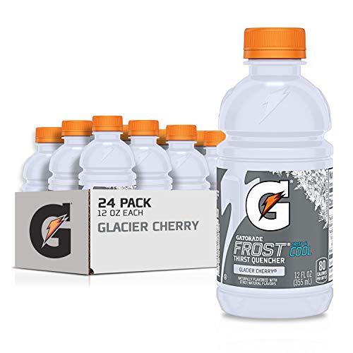 Gatorade Thirst Quencher, Glacier Cherry,12 Fl Oz (Pack of 24)
