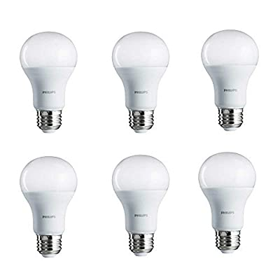 Philips LED Non-Dimmable A19 Frosted Light Bulb