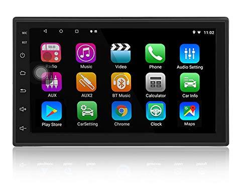 LEXXSON Android 8.1 Car Stereo 2 Din Navigazione GPS Bluetooth 7 pollici Touch Screen 32G ROM Autoradio Supporto per lettore multimediale Collegamento specchio WIFI USB AUX