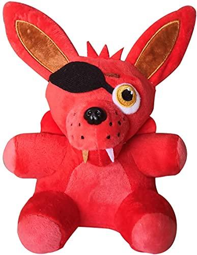 "FNAF Plushies, Five Nights at Freddy's 7""/ 18cm Plush | Foxy | Peluches de animales, regalo para los fanáticos de FNAF (7"" Foxy)"