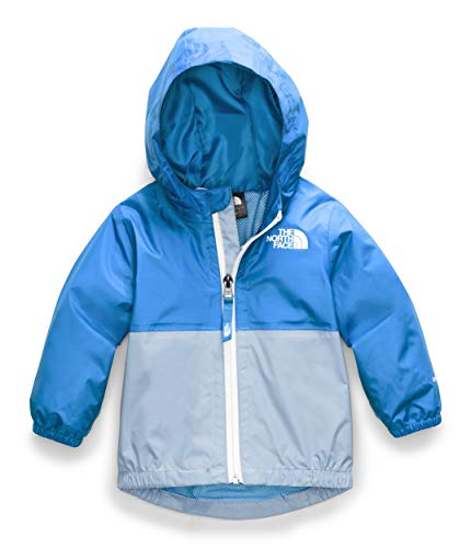 The North Face Infant Zipline Rain Jacket, Clear Lake Blue, 12M