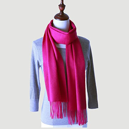 ShSnnwrl Wrap for Women Neatly Stitched Bufanda de Invierno de Lujo para Hombre,Bufanda para Mujer, Cuello Grueso y cálido, chales de Color s