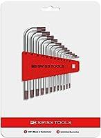 PB SWISS TOOLS 410H6-45CN L型ヘクスローブレンチセット(12本組)