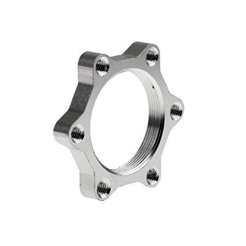 MagiDeal Aluminum Fahrrad Bremsscheibe / Scheibenbremse Adapter, Freewheel Threaded Hubs Disk - 3