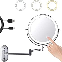 Best Wall Mounted Shaving Mirror With Lights - Buyers' Guide 4