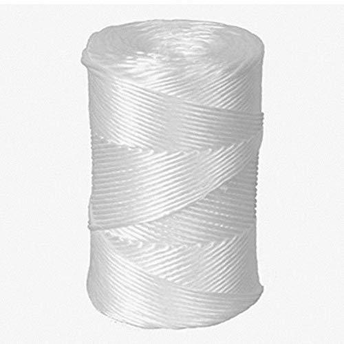 1-PACK Packschnur, Kordel, Bindfaden, PP, extrastark, weiß, 2.5mm, 250 Meter/Robuste Kordel aus Polypropylen zum Verschnüren von Paketen und Aktenbündel. Einzelverschweißt.