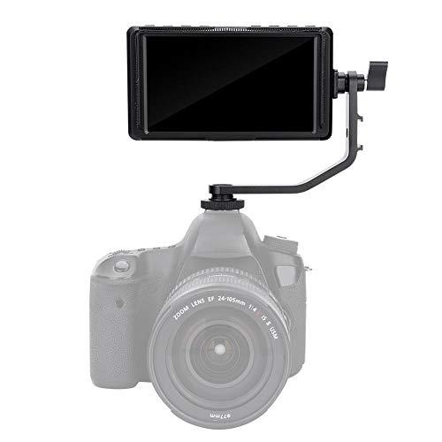 VBESTLIFEFeelworld S55 5.5 Zoll DSLR Kamera Field Monitor Small Full HD 1920x1080 IPS Peaking Focus Video Assist mit 4K HDMI undSchleifenausgabe.