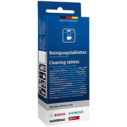 Bosch Siemens Neff Gaggenau Lot de 10 tablettes de nettoyage 1 x 10 Tabletten