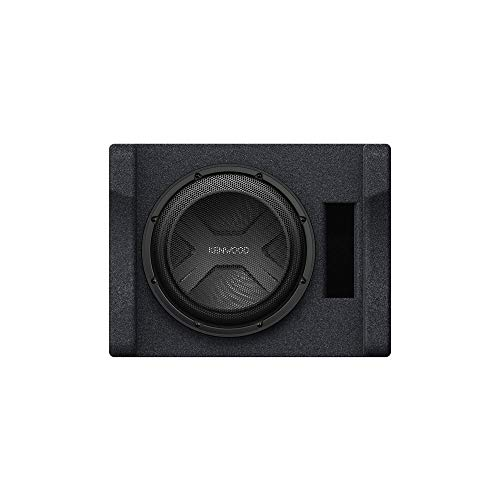 Kenwood P-W3041S Ported 4-ohm Enclosure with one 12  subwoofer