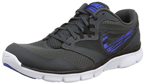 Nike Flex Experience Rn 3 MSL, Herren Trainieren/Laufen Mehrfarbig Grey (Anthracite/Lyon Blue/Blk/White 013) 43.5
