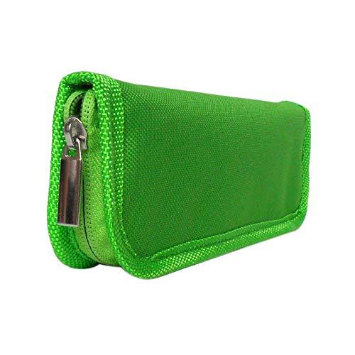 Tamkyo Insulin Cooler Travel Case Diabetic Medication Organizer Cooler Bag Green