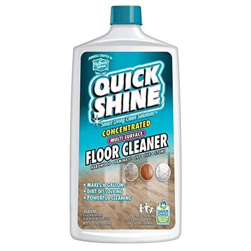 floor shines Quick Shine Concentrated Multi-Surface Floor Cleaner, 27 Fl. Oz.