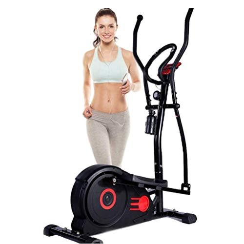 Kexia Fahrrad Stepper, Silent Faltung Elliptische Maschine, LCD-Display/Herzfrequenz-Test/Anti-Rutsch-Pedal, Nach Hause Aerobic-Fitnessgeräte