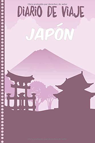 Diario de Viaje Japón: Cuaderno Diario,Notebook 108 páginas ILUSTRADAS Libro de Actividades de...