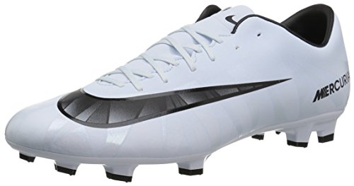 Nike Herren Mercurial Victory VI CR7 FG 852528 401 Fußballschuhe, Weiß (Teinte Bleue/Blanc/teinte Bleue/Noir), 42 EU