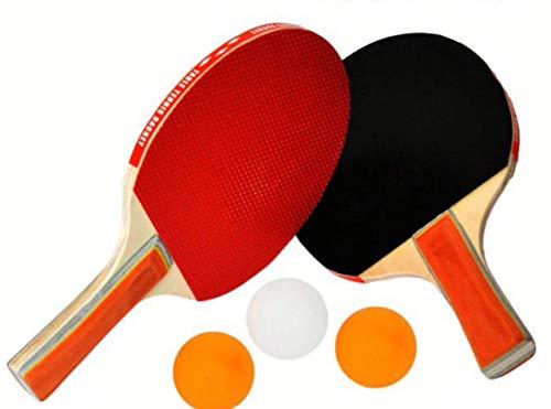 EM HOME Kit Palas Ping Pong, 2 Raquetas Ping Pong, con Juego...