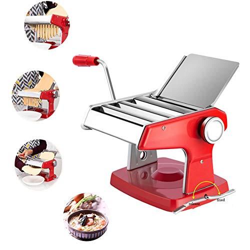 Macchina per Pasta, Sfogliatrice,Macchina per Pasta Fresca,Tira Pasta/Macchina per Pasta con Base a Ventosa,per Provare Il Gusto della Vera Pasta Fatta in Casa