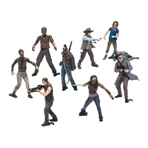 Walking Dead Tv Building Set Bmb Figures