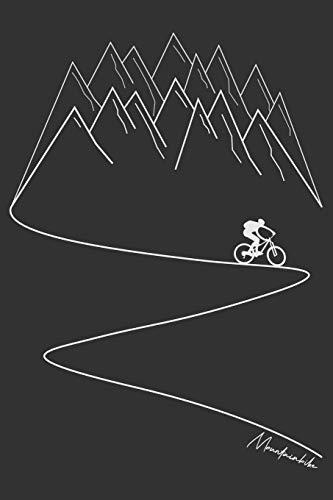 Mountainbike: Mountain Bike MTB Notizbuch Zeichenbuch A5 | Geschenk für Mountainbiker Radsportler Fahrrad Fans Kinder Jugendliche Frauen Männer zum ... | 120 blanko Seiten mit angedeutetem Rand