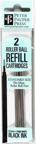 Roller Ball Pen Refill (2-Pack) (Rollerball Pen)