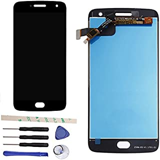 Draxlgon 100% Tested LCD Display Touch Screen Digitizer Assembly Replacement for Moto G5 Plus XT1684 XT1685 XT1687 5.2