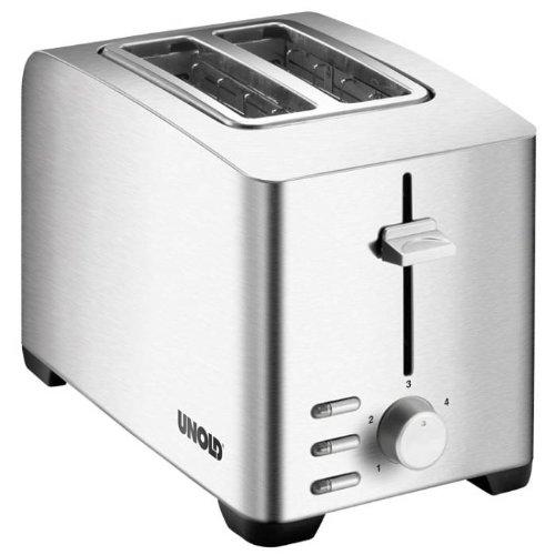 Unold 38376 Toaster Edel 2, 750-850 Watt, 2 Scheiben
