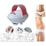 KörperMassager, Elektrisch Roller Body Shaping Massagegerät, 3D Mini-fette Brand-Massage-Maschine, Anti Cellulite Massage Für Gesicht, Arm, Hand, Hals, Fuß Und Körper