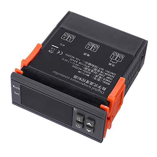 Relais Controlador digital de microcomputador inteligente Controlador de temperatura de calefacción Control de temperatura de enfriamiento Regulador de termostato MH-1210W Interruptor de relé WiFi