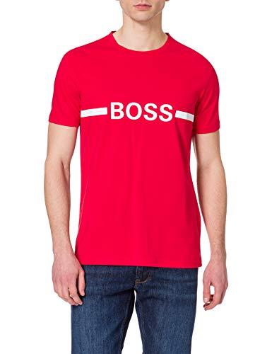 BOSS T-Shirt RN Slim Fit Camiseta, Rojo, L para Hombre
