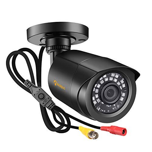 Anlapus HD 1080P Outdoor Überwachungskamera 4-in-1 Kamera mit OSD Menü, 20M IR Nachtsicht, Unterstützt CVI/TVI/AHD/960H