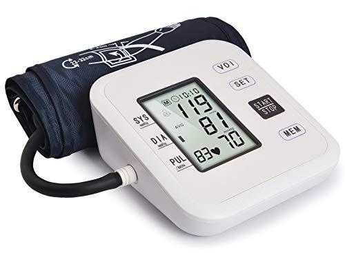 Oberarm-Blutdruckmessgerät mit Sprachausgabe 2-Benutzer-Modus Automatische Pulsfrequenzmessgeräte mit LCD-Anzeige und Weitbereichsmanschettenverwendung für Zuhause / Krankenhaus / Klinik / Pflegeheim
