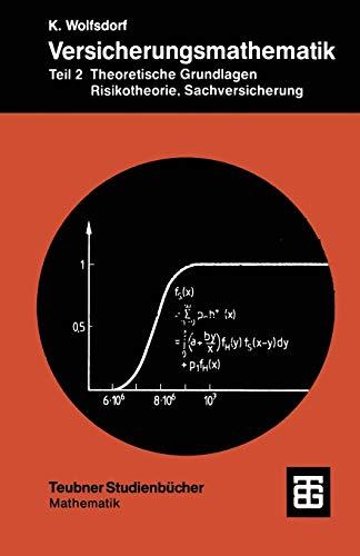 Versicherungsmathematik, Tl.2, Theoretische Grundlagen, Risikotheorie, Sachversicherung: Teil 2 Theoretische Grundlagen, Risikotheorie, Sachversicherung (Teubner Studienbücher Mathematik)
