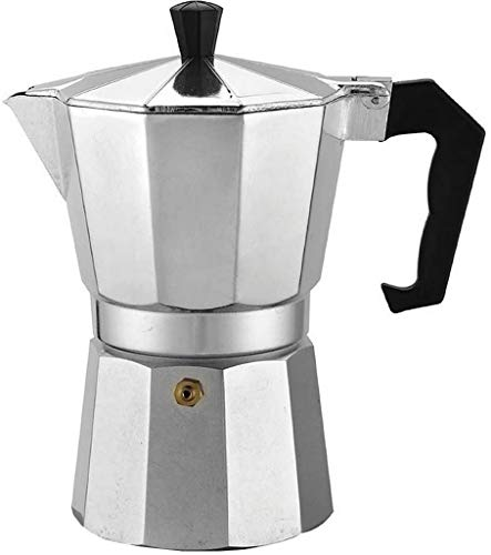 Cafeteira Italiana Alumínio Polido 6 Doses