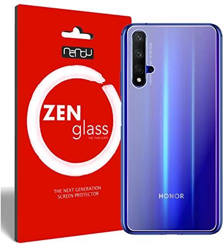 ZenGlass Flexible Glas-Folie kompatibel mit Huawei Nova 5T Rückseite Panzerfolie I Bildschirm-Schutzfolie 9H I (Kleiner Als Das Gewölbte Bildschirm)