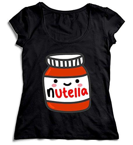 MYMERCHANDISE Nutella Jar Smiling Tasty Happy Nutela T-Shirt