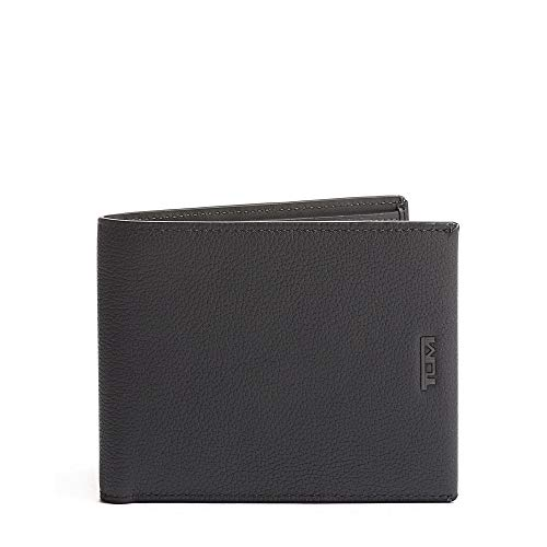 TUMI - Nassau Global Double Billfold Wallet with RFID ID Lock for Men - Grey - ONE_SIZE