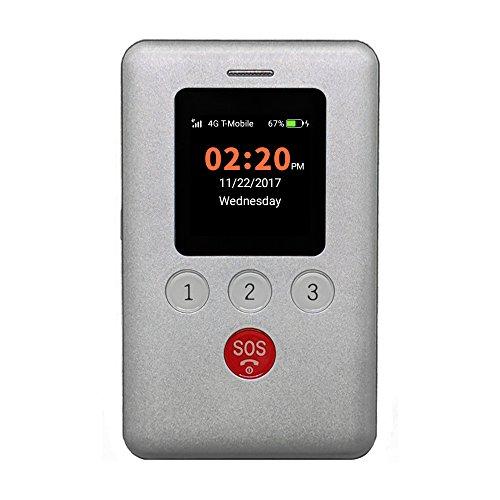 KidsConnect KC2 4G Kids GPS Tracker, Cell Phone for Children, Seniors, Alzheimer's, Autism