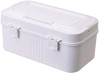 Household Medicine Chest Multi-Layer First Aid Kit Medicine Storage Box Plastic Medical Box Shading Moisture MJZDD (Color : White)