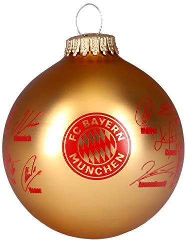 FC Bayern München Weihnachtskugel/Christbaumkugel ** Signature **