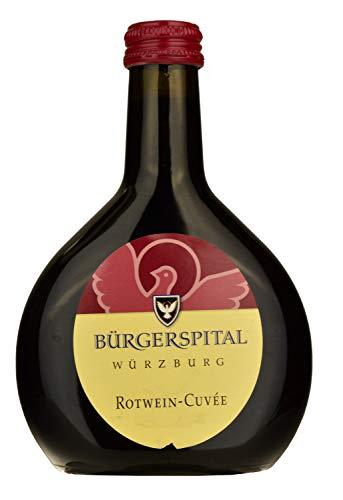 Bürgerspital Würzburger Rotwein-Cuvée 2017 Trocken (1 x 0.25l) Rotwein Franken Frankenwein