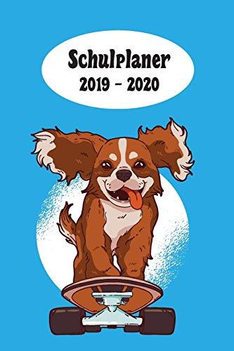 Schulplaner 2019 – 2020: Skateboard Hund Jungen das hausaufgabenheft 2019 - 2020 für das neue schuljahr ; mit kalender, stundenplan für jedes ... ziele ; merkheft ; geschenkidee | dezente Ver