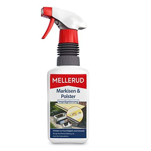 MELLERUD 2001002428 Markisen & Polster Imprägnierung Effizientes Mittel zum Schutz vor Feuchtigkeit und Schmutz von Textilien im Innen- und Außenbereich, 1 x 0,5 l
