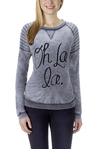 bellybutton Loungewear Damen Sweatshirt Shirt Adalie Jogging Freizeit/Ombre Melange XL (42-44)