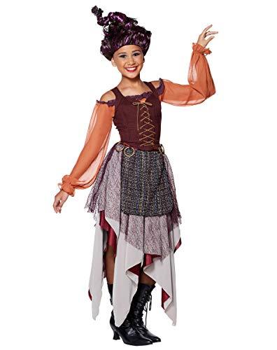 Spirit Halloween Tween Mary Sanderson Hocus Pocus Costume | Officially Licensed - L