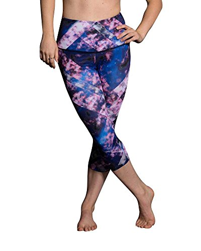 Onzie Yoga High Rise Capri 259 Celeste (Celeste, Small/Medium)
