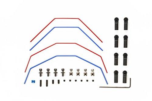 TAMIYA 300054561 - DT-03 Stabilisator-Set vorn/hinten, 2+2